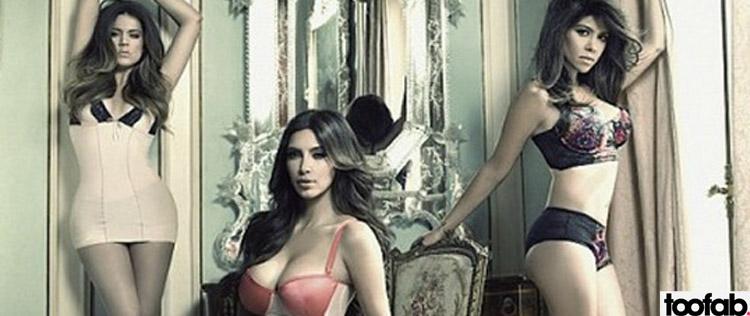 lingerie Kourtney kim khloe kardashian
