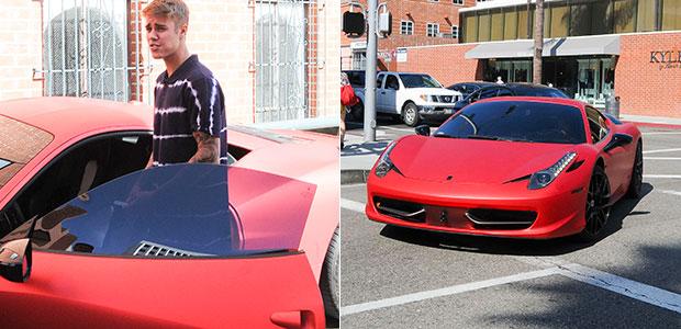 Justin Bieber anda com carro de 550 mil reais em Los ...