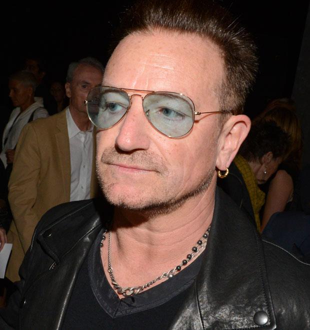 c3f7e40f1 Bono Vox explica que usa óculos de sol por causa do glaucoma