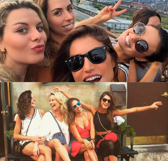 A atriz compartilhou diversos cliques, em sua conta no Instagram, no  domingo dia 20 a082927866