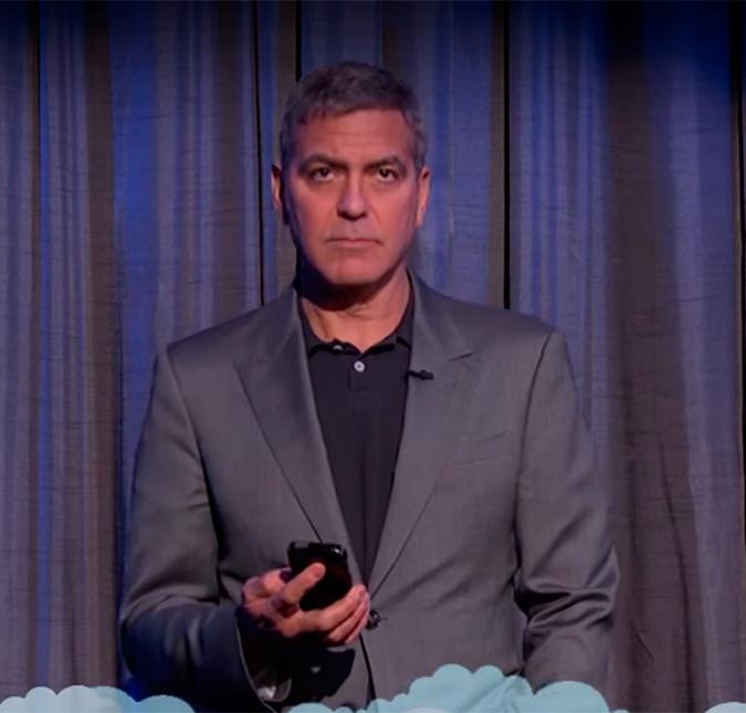 Celebridades como Halle Berry, George Clooney e Andrew