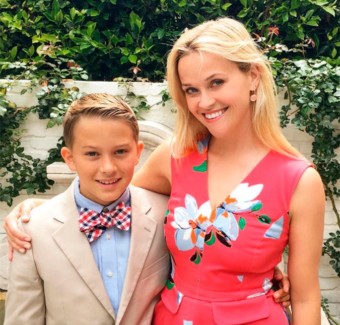 e25124607c1e5 Reese Witherspoon é a mãe mais orgulhosa do mundo, entenda! - Estrelando