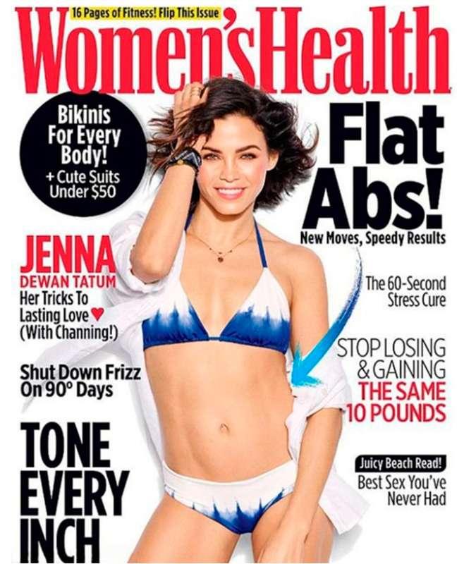 31a9d758ec Jenna Dewan Tatum exibe boa forma em capa de revista. Veja as ...