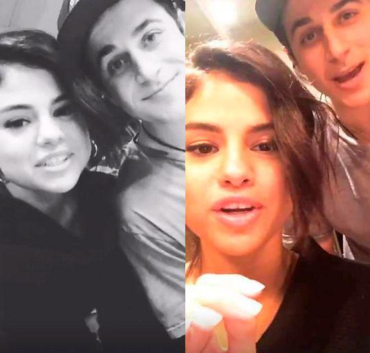 Selena Gomez reencontra colega da série Os Feiticeiros de Waverly Place, confira!