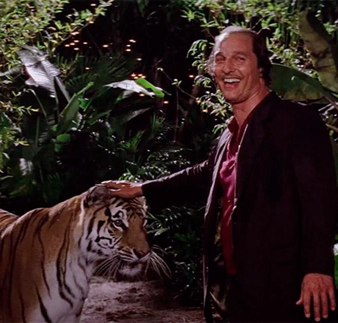 Matthew McConaughey diz que suou muito ao filmar cena com ...