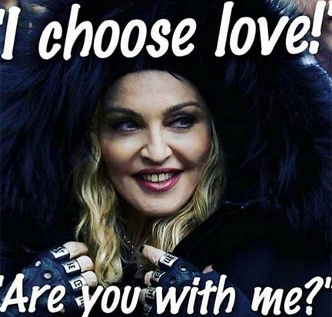 8830c99b52a5b Madonna esclarece frase polêmica em seu discurso anti-Trump na Marcha das  Mulheres. A cantora disse que pensou em explodir a Casa Branca