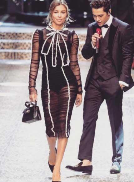 4f9fd392cfbbd Grazi Massafera arrasou na passarela da. Dolce   Gabbana, no domingo, dia  26, no. Women s Fashion Show, parte da Semana de Moda de Milão.