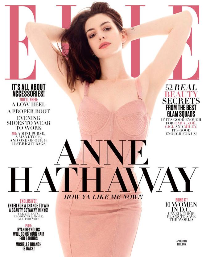 Anne Hathaway Posa Para Revista E Fala Sobre O Marido E A