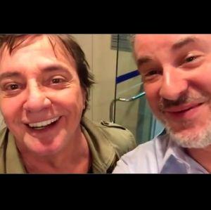 Dan Stulbach, pai de Fiuk em A Força do Querer pede conselhos a Fábio Jr, vem ver!