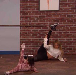 Jennifer Lopez tem a aula de dança mais divertida que você já viu, entenda!