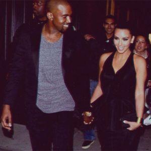 Kim Kardashian e Kanye West comemoram três anos de casados!