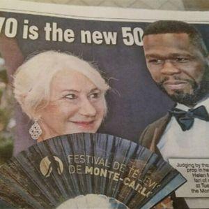 50 Cent revela que Helen Mirren é sua crush: - Ela tem aquela coisa