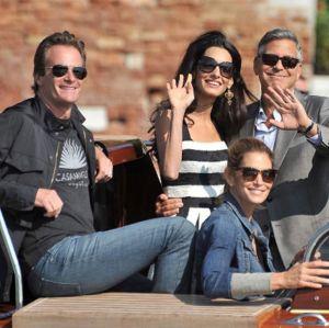Marido de Cindy Crawford revela que gêmeos Clooney são a mistura perfeita de George e Amal