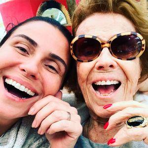 Giovanna Antonelli publica foto ao lado da avó e prova que a genética é forte, confira!
