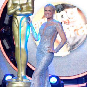 Xuxa recria selfie famosa do Oscar no Dancing Brasil, vem conferir!