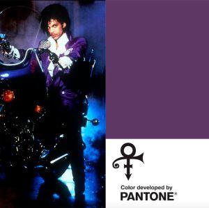 Prince é homenageado pela Pantone com cor púrpura personalizada!