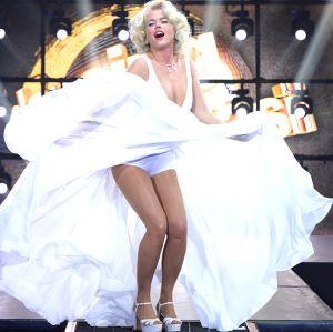 Xuxa mostra todo o processo que a transformou em Marilyn Meneghel