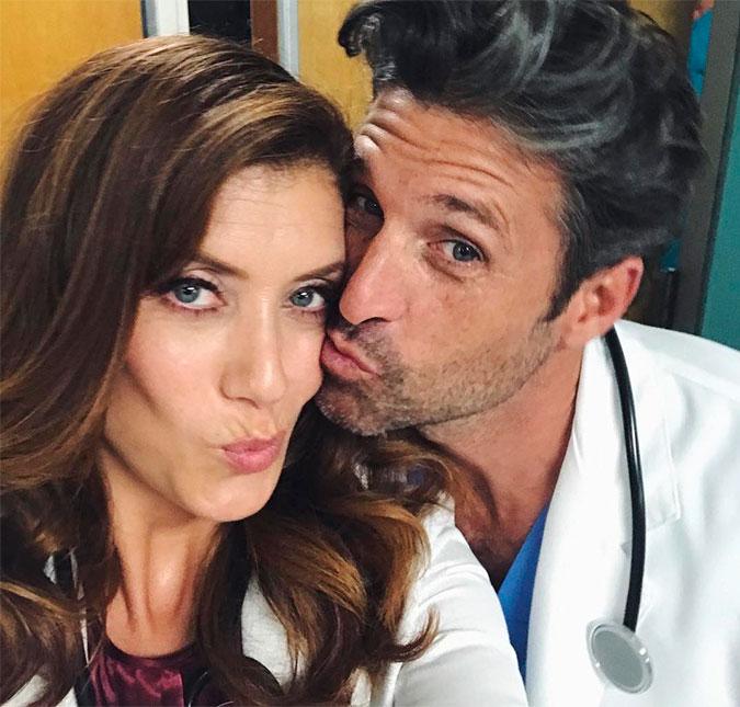 Patrick Dempsey E Kate Walsh Ex Casal De Greys Anatomy Se
