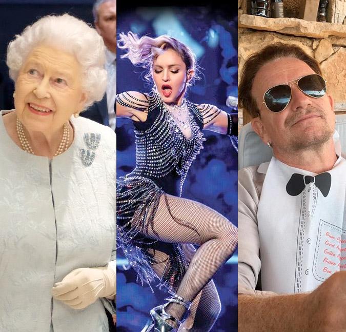 3dcddd1cd Rainha Elizabeth II, Madonna e Bono Vox são citados em investigação sobre  paraísos fiscais