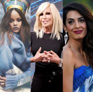 Donatella Versace. Foto do site da Entretenimento R7 que mostra Rihanna, Amal Clooney e Donatella Versace serão anfitriãs do MET Gala 2018!