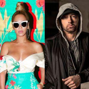 Eminem. Foto do site da Entretenimento R7 que mostra Beyoncé e Eminem lançam Walk On Water em parceria, com mensagem inesperada, confira!