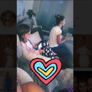 Ana Paula Siebert. Foto do site da Entretenimento R7 que mostra Com Ticiane Pinheiro em lua de mel, Rafaella Justus curte um tempinho com a madrasta, Ana Paula Siebert