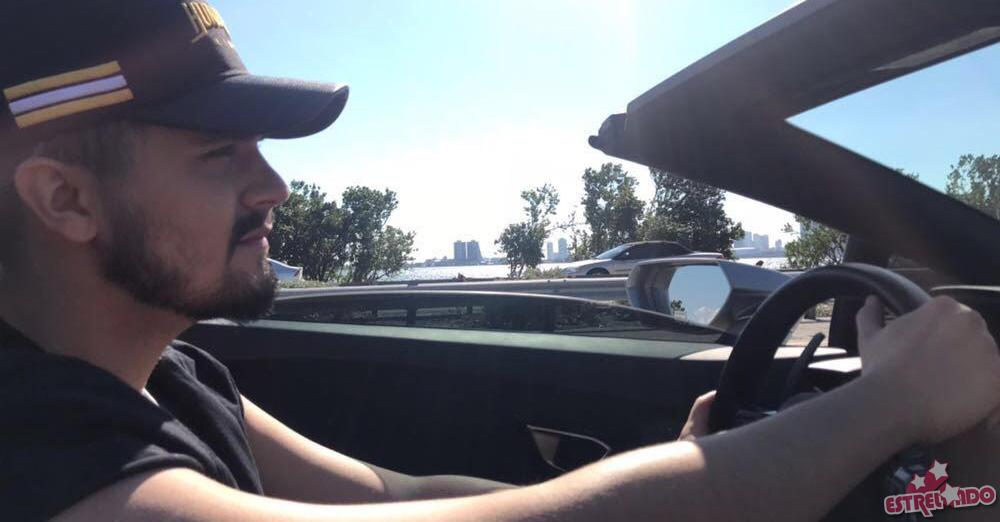Luan Santana desfila por Miami com Lamborghini de dois milhões e 800 mil  reais! - Estrelando e47d198ea6