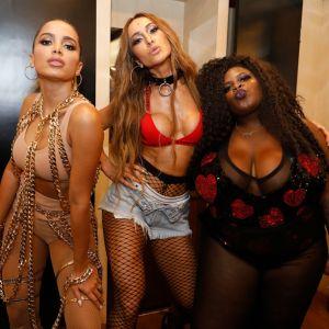 Estrelando - Anitta recebe Sabrina Sato e Jojo Todynho em  i show  i ... a6ef530990