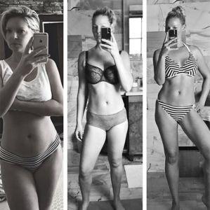 Boa Forma. Foto do site da Entretenimento R7 que mostra Katherine Heigl exibe boa forma após dar à luz. Conheça as mamães famosas que emagreceram rápido após a gestação!