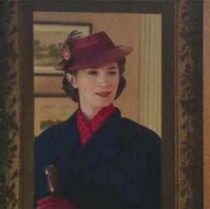 Emily Blunt. Foto do site da Entretenimento R7 que mostra Emily Blunt aparece como Mary Poppins no primeiro trailer de A Volta de Mary Poppins