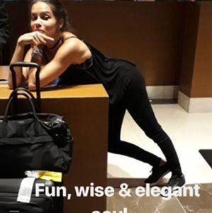 Adriana Lima. Foto do site da Entretenimento R7 que mostra Namorado de Adriana Lima, Metin Hara publica InstaStories da modelo após boatos de término, saiba mais!