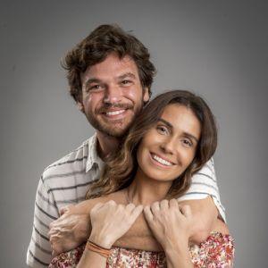 Emilio Dantas. Foto do site da Entretenimento R7 que mostra Giovanna Antonelli e Emílio Dantas aparecem em primeiras fotos de Segundo Sol