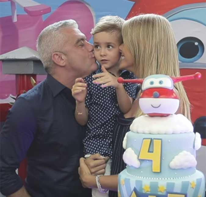 49525239672f4 Ana Hickmann mostra detalhes da festa de seu filho, assista ao vídeo! A  apresentadora fez um vídeo para o seu canal do YouTube