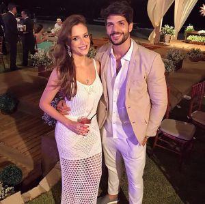 Foto do site da  que mostra Ex-BBB Lucas ainda tem esperança de voltar com a ex-noiva, Ana Lúcia: - A gente ainda precisa conversar mais