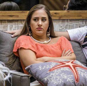 Foto do site da  que mostra Patrícia é a eliminada da semana no BBB18!