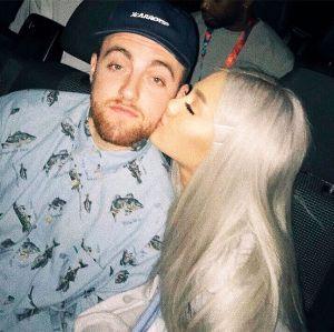 Ariana Grande. Foto do site da Entretenimento R7 que mostra Ariana Grande pode estar grávida do namorado, Mac Miller