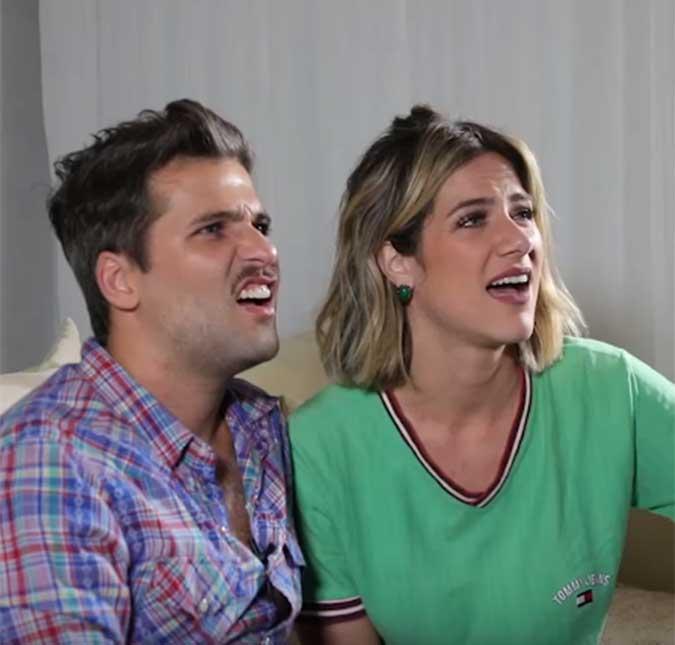 O casal fez um vídeo de reação ao assistir o registro feito antes do casório c1b2d5bbf0066