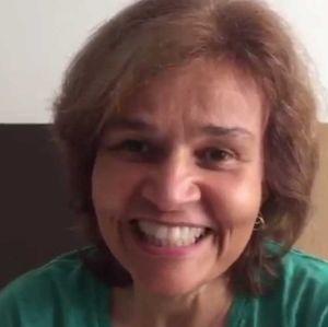 Claudia Rodrigues. Foto do site da Entretenimento R7 que mostra Internada, Claudia Rodrigues oferece aparelho para ajudar na recuperação de Neymar