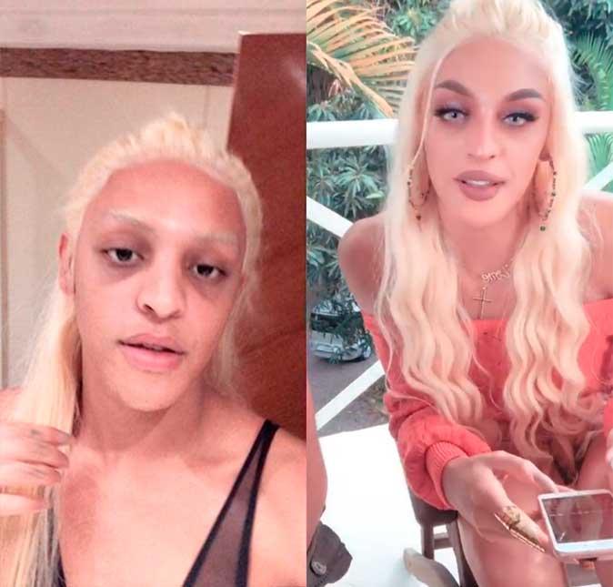 Pabllo Vittar choca seguidores ao postar antes e depois de maquiagem ... 2a9532ef30