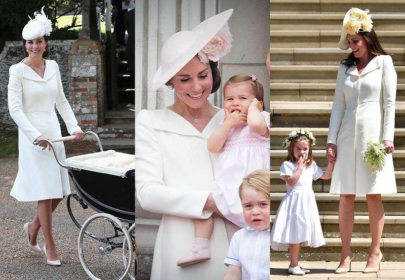 e855361cbf408 Kate Middleton repetiu vestido pela terceira vez em casamento real ...