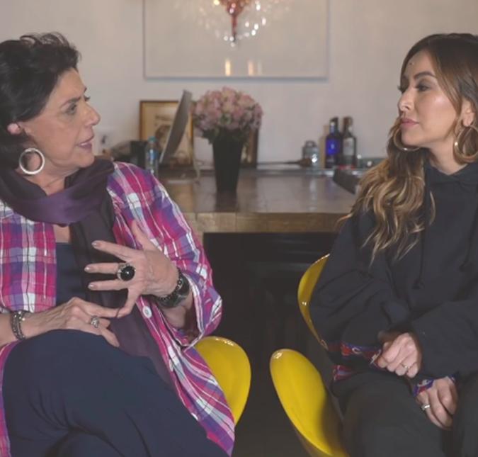 No YouTube, a jornalista contou suas experiências sobre a maternidade com a  nora 4726a3099a