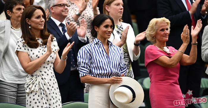 Descubra o motivo de Meghan Markle não poder usar chapéu em Wimbledon -  Estrelando a0c30199e91
