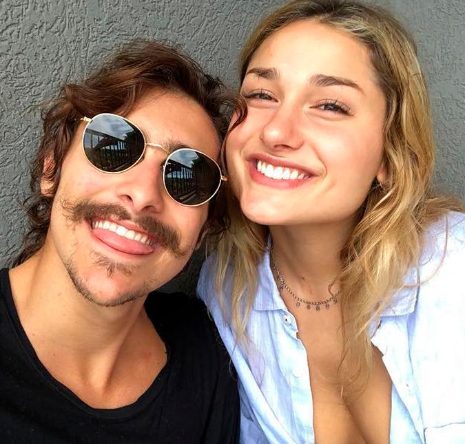 Bruno Montaleone fala sobre namoro à distância com Sasha Meneghel e ... 3b07a77ba0e11