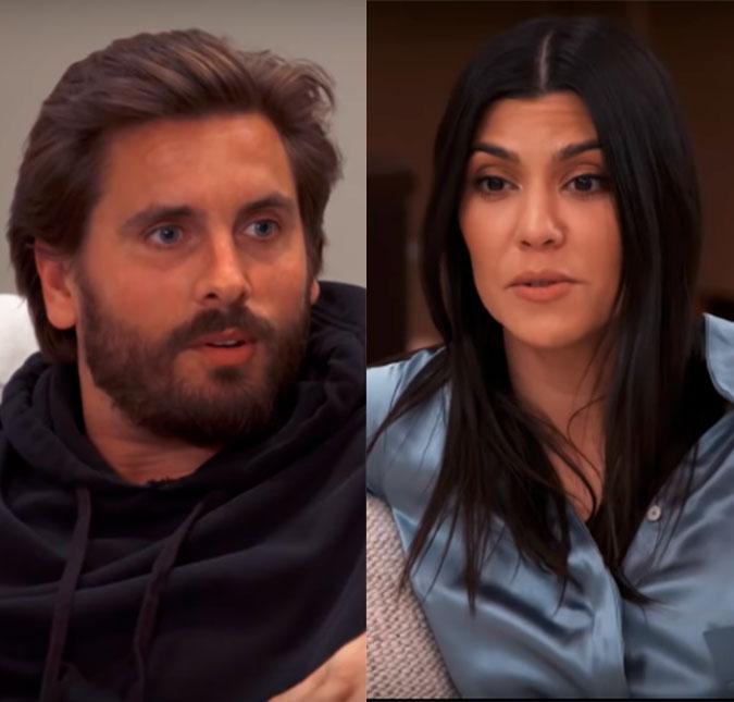 Kourtney Kardashian teme que seu marido queira parte de