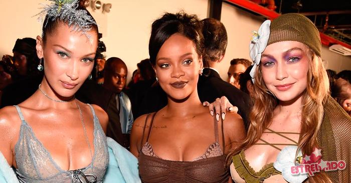 5d38c90f0 Rihanna rouba a cena na NYFW com o desfile de sua grife de lingerie.  Confira tudo o que está rolando na semana de moda! - Estrelando