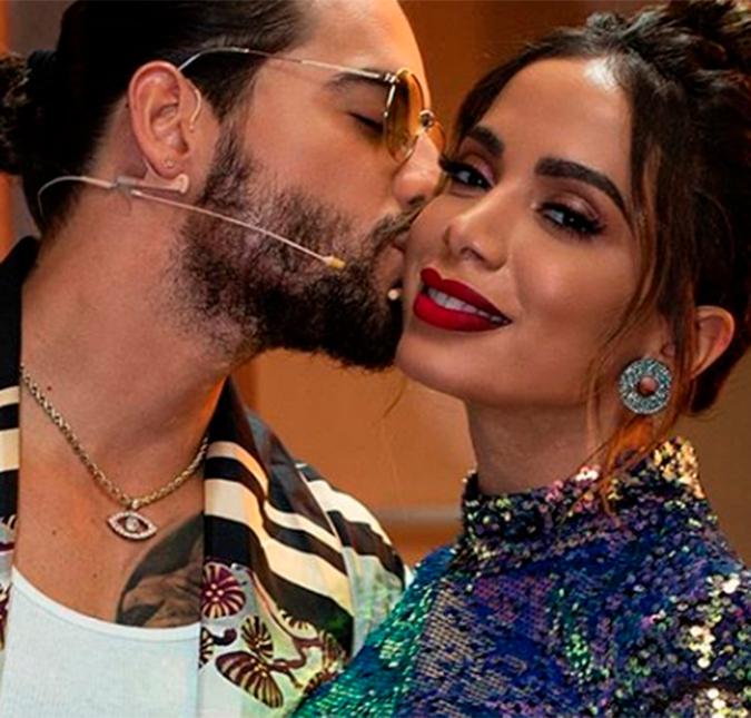 Resultado de imagem para cantora Anitta confirmou que já pegou Maluma