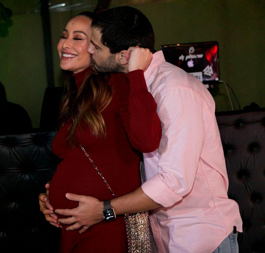 7626653f79e69 A apresentadora está grávida de Zoe, fruto de seu relacionamento com Duda  Nagle
