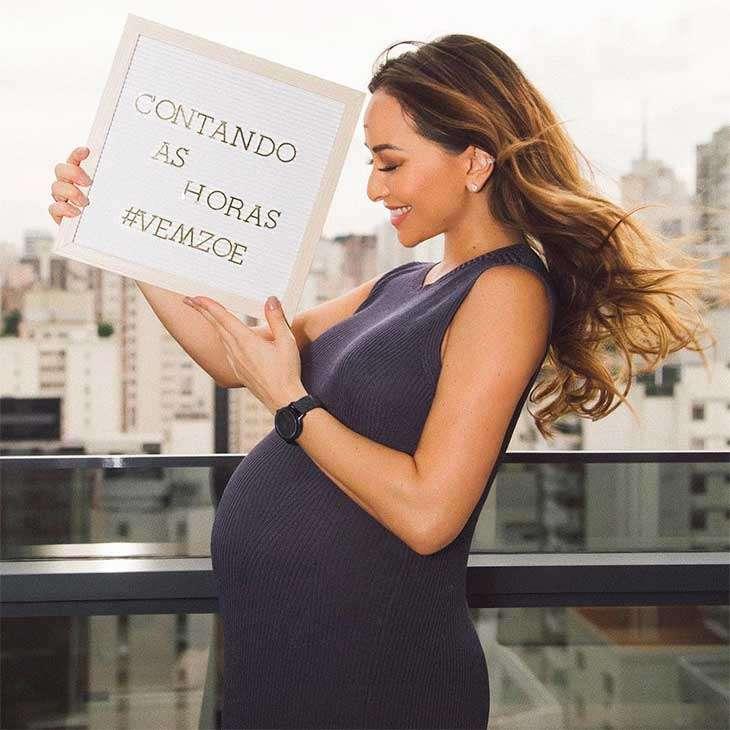 Grávida, Sabrina Sato ganha elogio de Ivete Sangalo e faz planos ... 43827fd421