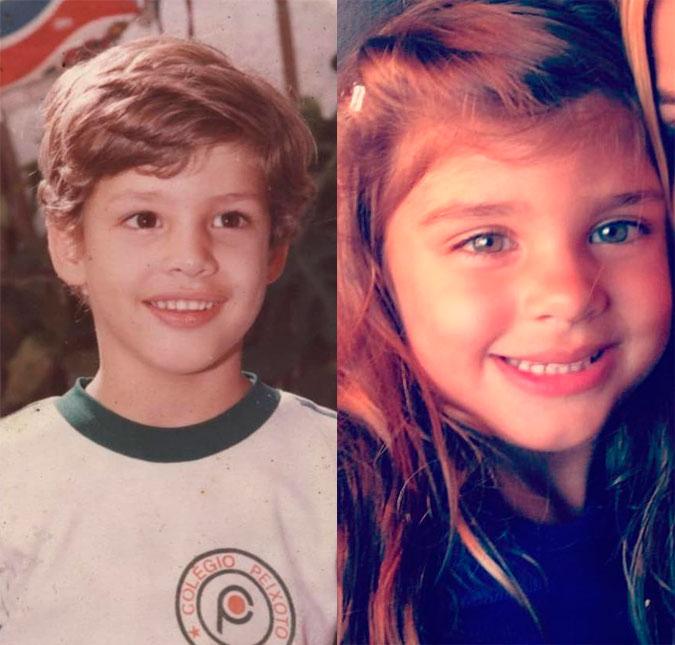 31fb7e0c9 Cauã Reymond posta foto sua quando criança e fãs comentam semelhança ...