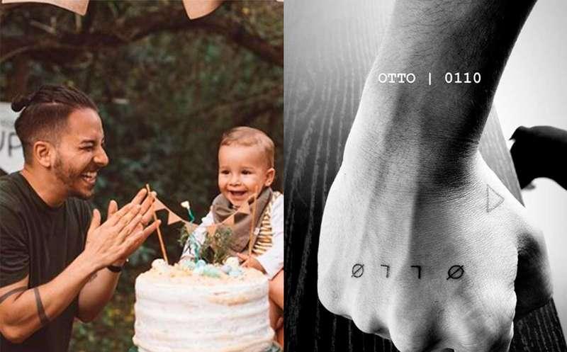 Junior Lima Faz Tatuagem Em Homenagem Ao Filho Saiba Os